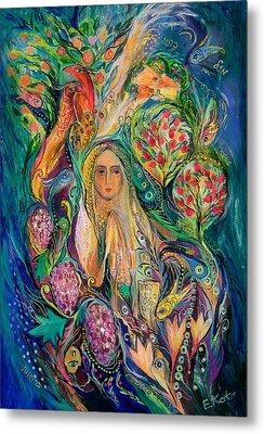 The Queen Of Shabbat Metal Print by Elena Kotliarker