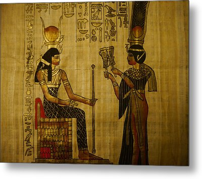 The Queen Of The Nile Metal Print by Joshua Massenburg