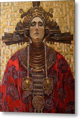 The Queen Of The Sun Metal Print by Goryaev Viktor