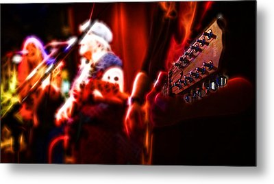 The Radiant Musicians Metal Print by Cameron Wood