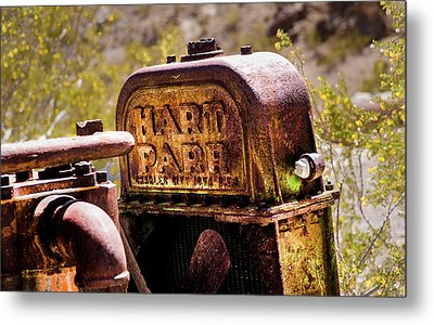 Metal Print featuring the photograph The Radiator by Onyonet  Photo Studios
