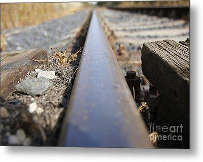 The Rail Metal Print by Michal Boubin
