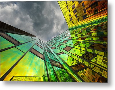 The Rainbow Metal Print by Gerard Jonkman
