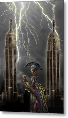 The Rainmaker Metal Print by Larry Butterworth