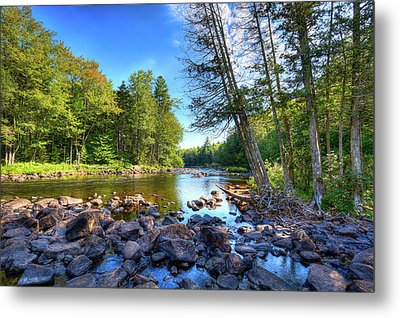 The Raquette River Metal Print by David Patterson