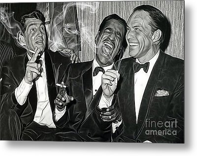 The Rat Pack Collection Metal Print by Marvin Blaine