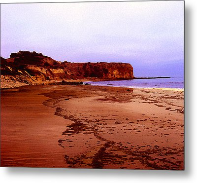 The Reach At Portugese Bend Metal Print