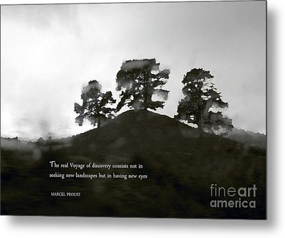 The Real Voyage Of Discovery Metal Print