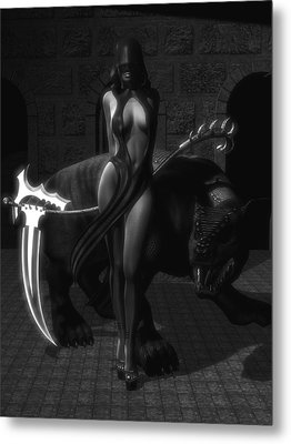 The Reaper Metal Print by Alexander Butler
