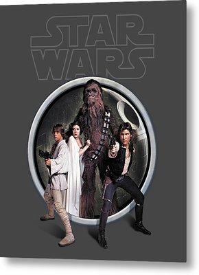 The Rebels Metal Print