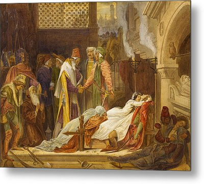 The Reconciliation Of The Montagues And The Capulets Metal Print