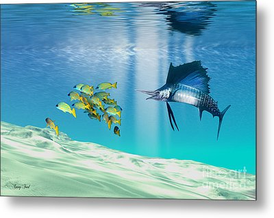 The Reef Metal Print by Corey Ford