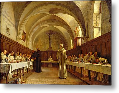 The Refectory Metal Print by Theophile Gide