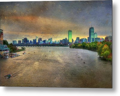 Metal Print featuring the photograph The Regatta - Head Of The Charles - Boston by Joann Vitali