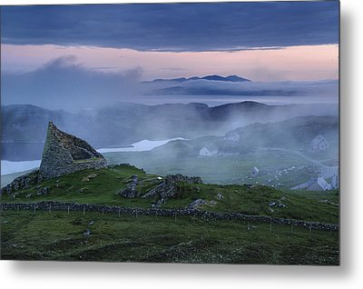 The Remains Of The Double-walled Metal Print by Jim Richardson