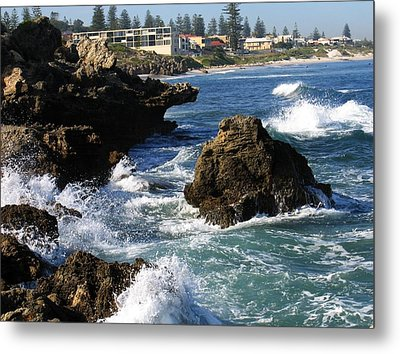 The Restless Sea Metal Print