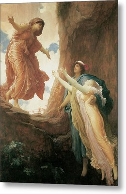 The Return Of Persephone Metal Print by Frederick Leighton