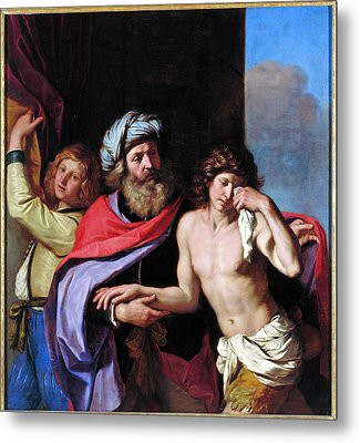 The Return Of The Prodigal Son Metal Print by Guercino