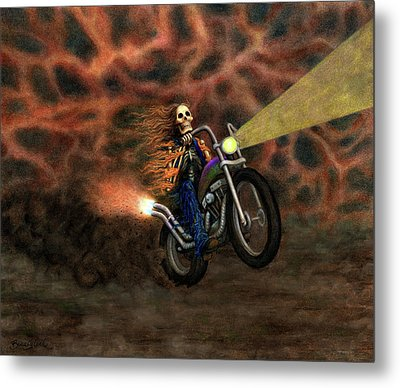 The Ride Out Of Bardo Metal Print by Bobby Beausoleil
