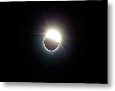 The Ring Of 2017 Solar Eclipse Metal Print by David Gn