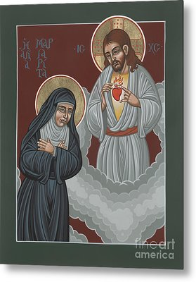 St Margaret Mary And The Sacred Heart 238 Metal Print