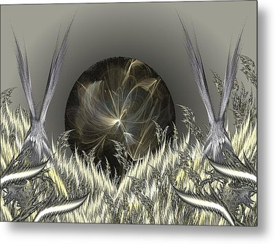 The Rising Metal Print by Ricky Kendall