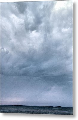 Metal Print featuring the photograph The Rising Storm by Jouko Lehto