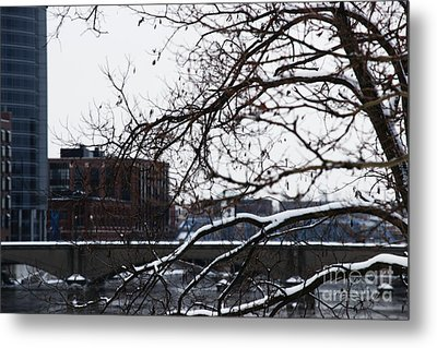 The River Divide Metal Print