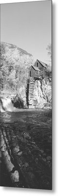 The River Mill At Crystal River Valley Metal Print by Panoramic Images