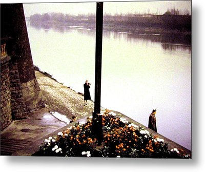 The River Seine 1955 Metal Print by Will Borden