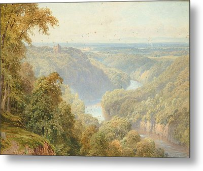 The River Ure Metal Print by Harry Sutton Palmer
