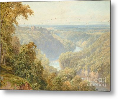 The River Ure Metal Print by MotionAge Designs