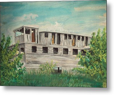 The Riverboat Majestic  Metal Print by Norman F Jackson
