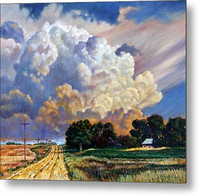 The Road Home Metal Print by John Lautermilch