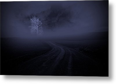 Metal Print featuring the photograph The Road by Robert Geary