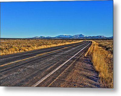 The Road To Flagstaff Metal Print