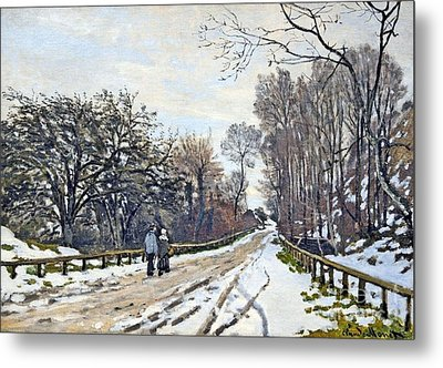 The Road To The Farm Of St. Simeon Metal Print