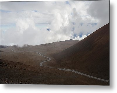 Metal Print featuring the photograph The Road To The Snow Goddess by Ryan Manuel