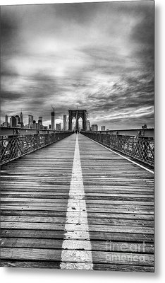 The Road To Tomorrow Metal Print
