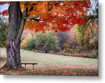 The Robert Frost Farm Metal Print by Jeff Folger