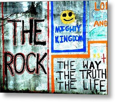 The Rock Metal Print by Michael L Kimble