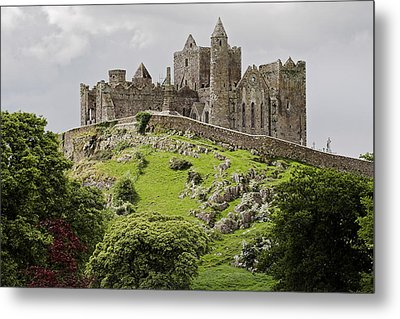 The Rock Of Cashel Ireland In Summer Metal Print by Pierre Leclerc Photography