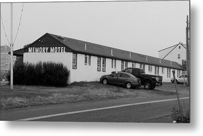 The Rolling Stones' Memory Motel Montauk New York Metal Print