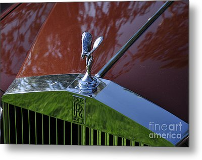 The Rolls Metal Print by Clayton Bruster