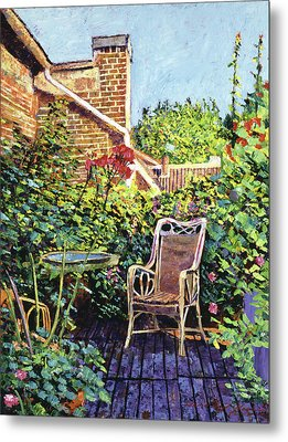 The Roof Garden Metal Print by David Lloyd Glover