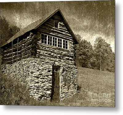 Metal Print featuring the photograph The Root Cellar by Pete Hellmann