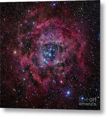 The Rosette Nebula Metal Print by Robert Gendler