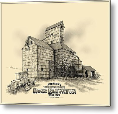 The Ross Elevator Version 2 Metal Print by Scott Ross