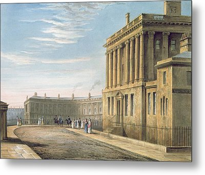 The Royal Crescent Metal Print by David Cox