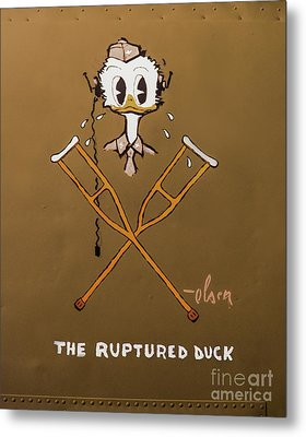 The Ruptured Duck Metal Print by Jon Burch Photography